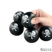 Mini Skull And Crossbones Stress Balls - £14.54 GBP