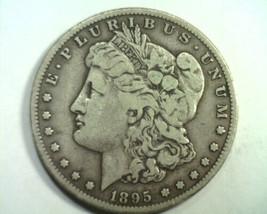 1895-S MORGAN SILVER DOLLAR VERY FINE VF NICE ORIGINAL COIN BOBS COINS F... - $645.00