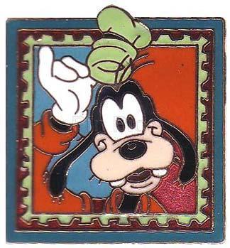 Disney  Goofy stamp retired  Pin/Pins