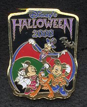 Disney Halloween Goofy Pluto Mickey etc Japan Pin/Pins - $19.98