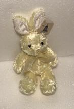 Plushland 2000 Yellow Shiny Easter Bunny Rabbit Plush Stuffed Animal NAFCO - $7.91