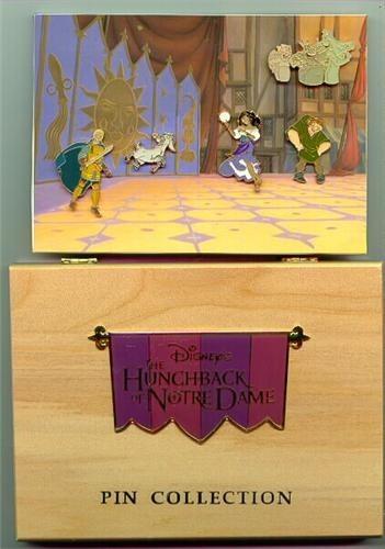 Disney Hunchback of Notre Dame Box Set 5 Pin/Pins