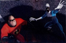 Disney Incredibles 2 characters Lithograph - $14.35