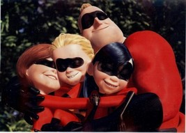 Disney Incredibles the cast Lithograph - $12.46