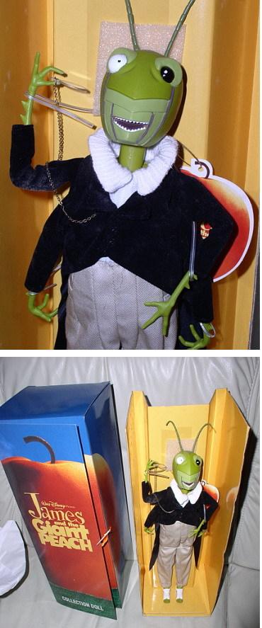 Disney James and the Giant Peach Grasshopper Doll