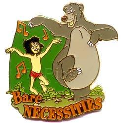 Disney Jungle Book with Baloo Musical Moments Pin/Pins