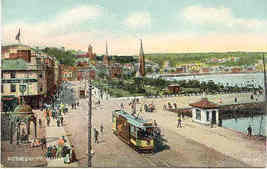 Rothesay Prominade vintage Post Card - $6.00