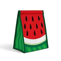 Mustard Sandwich Lunch Food Bag - Watermelon Froot Sandwich Bag, Red - $12.69