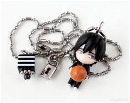 Kuroko no Basuke Mitobe Rinnosuke Charm Necklace, Black and White, Stain... - $14.00