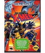 X-Men (Sega Genesis Game)  Complete with Case & Manual - $19.00
