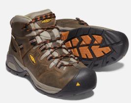 Keen Detroit XT Taille US 10.5 M (D) Eu 44 Homme Wp Souple Orteil Travail Shoes image 1