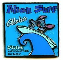 Disney Lilo & Stitch Alien Surf Pin/Pins