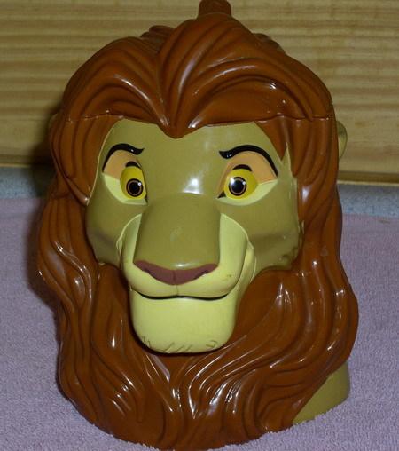 Disney Lion King Mug with pop up lid