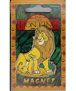 Disney Lion King Simba & Mufasa Magnet Rare - $9.64