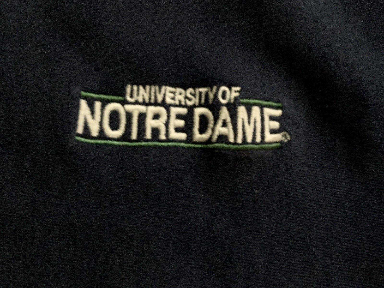 Champion Notre Dame Irish Sweatshirt sz L ND REVERSE WEAVE Green USA Exc 80-90s