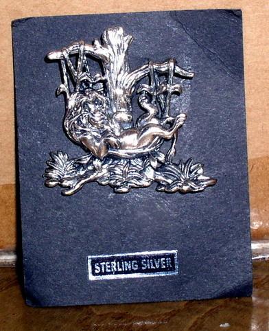 Disney Lion King Sterling Silver Brooch Rare Pin/Pins