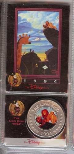 Disney Lion King  dated 1994  Decades Coin
