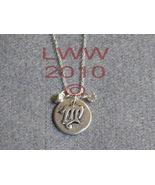 Virgo Zodiac Charm Necklace Pendant with Chain New - $5.99