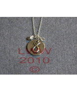 Taurus Zodiac Charm Necklace Pendant with Chain New - $5.99