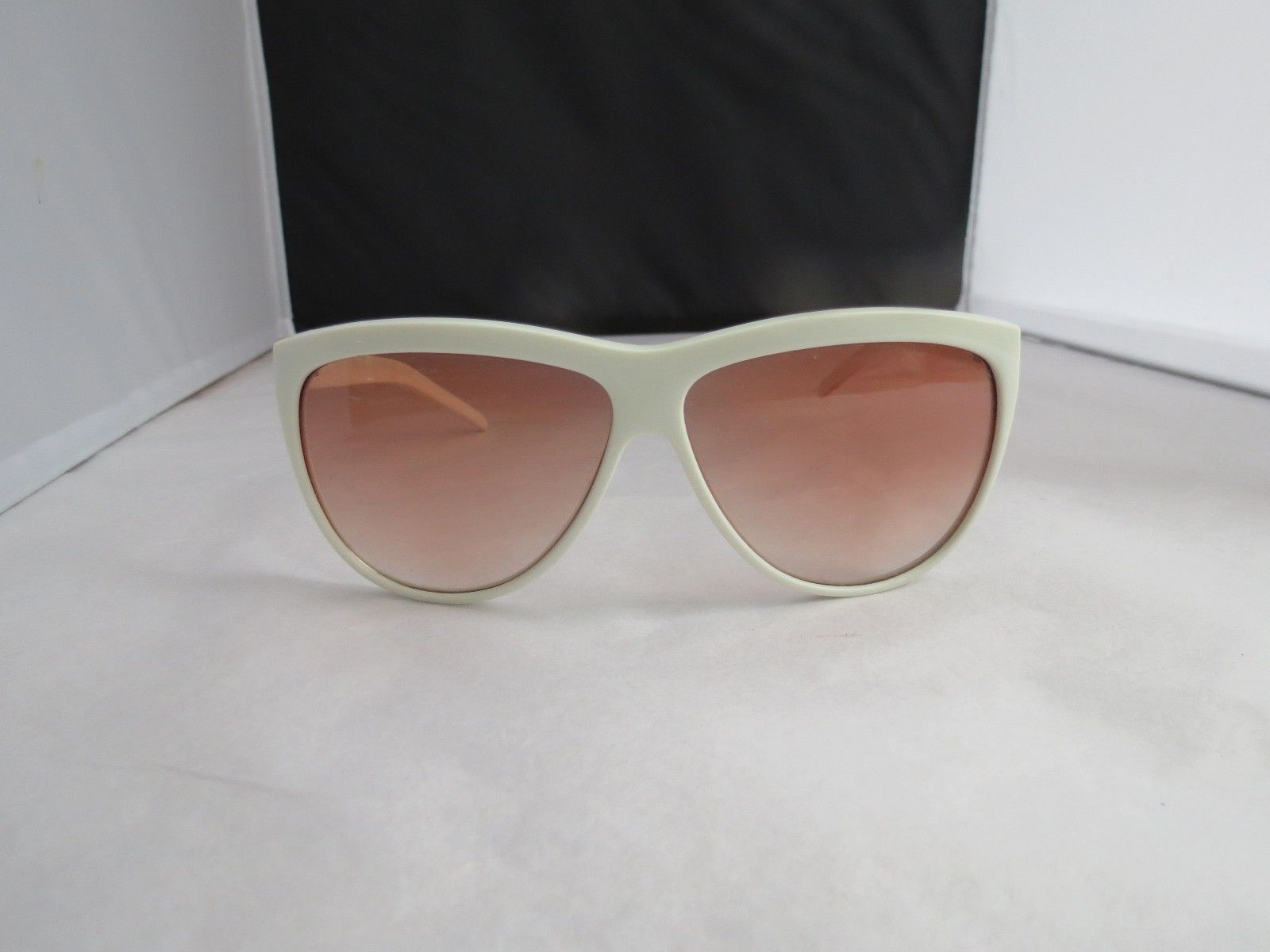 bb4beceee6 Vintage 1980s Sunglasses white plastic made and 50 similar items