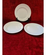 "Rosenthal Asymmetria White Set of 3 Salad Plates 8 1/8"" - $36.62"