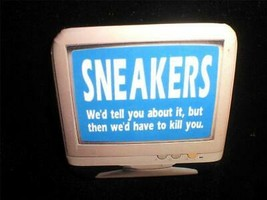 Sneakers 1992 Movie Pin Back Button 2inch Squared - $6.00