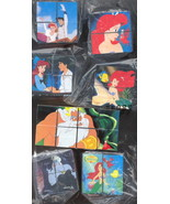 Disney Little Mermaid Puzzle Cube Unique New Rare Item - $22.86
