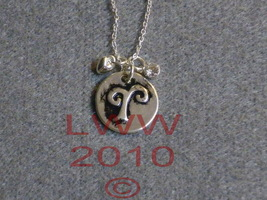 Aries Zodiac Charm Necklace Pendant & Chain New - $5.99
