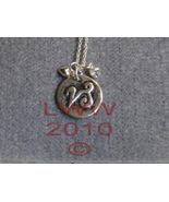 Capricorn Zodiac Charm Necklace Pendant & Chain New - $5.99