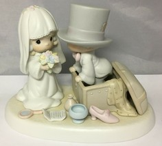 Precious Moments 1987 Heaven Bless Your Togetherness 106755 Vessel Mark - $29.35