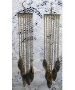 """Chandelier Earrings 5 """" Long  Delicate Stunning  - $12.00"""