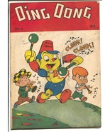 Ding Dong #4 1947-ME-Robert Robot cover & story-spanking panel-FN- - $181.88