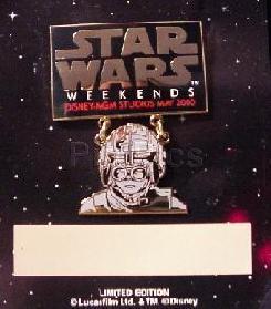 Disney MGM Star Wars Weekend-- Anakin dagle  Pin/Pins