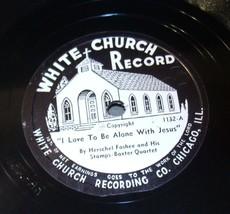 White Church Record # 1132 AA-191720O Vintage Collectible image 1