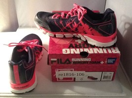 Pre-Owned Boxed Fila Womens Running Shoe Memory Foam Size 8 Am. Cancer S... - $29.99