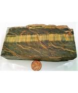 Variegated Tiger Eye Gemstone Carving Cabbing Rough - $25.00