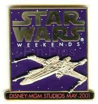 Disney MGM Star Wars Weekend x-wing fighter Pin/Pins - $29.02
