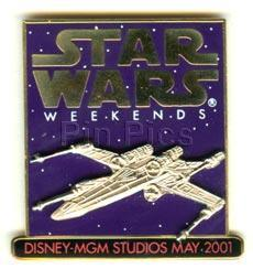 Disney MGM Star Wars Weekend x-wing fighter Pin/Pins