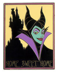 Disney Maleficent Home Sweet Home Auction LE Pin/Pins