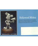 Disney Mickey Director Hollywood Pewter Figurine - $199.99