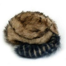 Multipet Furry Frontier Hat Dog Toy- Faux Raccoon with Crinkle (large) - $11.80 CAD