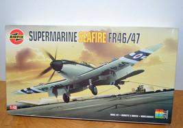 AIRFIX SUPERMARINE SEAFIRE FR46/47 Model Kit Fighter Plane 1:48 Scale Un... - $46.14