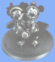Disney Mickey & Minnie 1994 Ice Skating - $92.87