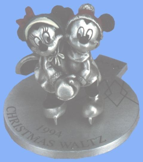 Disney Mickey & Minnie 1994 Ice Skating