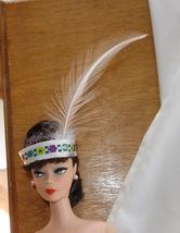 Barbie doll accessory headband with feather Native American costume piece - $7.99