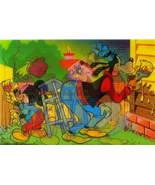 Disney Mickey Mouse Goofy 3D Lenticular print - $9.64