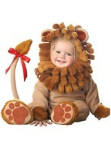 Incharacter Lil Lion Roar Cub Jungle Infant Baby Toddler Halloween Costume 6003 - $58.99