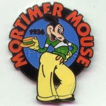 Disney Mickey Mouse Mortimer Mouse dated 1936  Pin/Pins - $19.98
