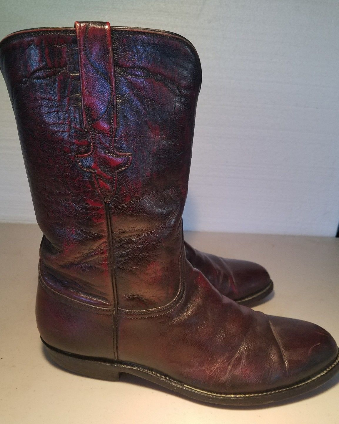 bc24b5ac21a Lucchese men's cowboy western boots size 8 D and 30 similar items