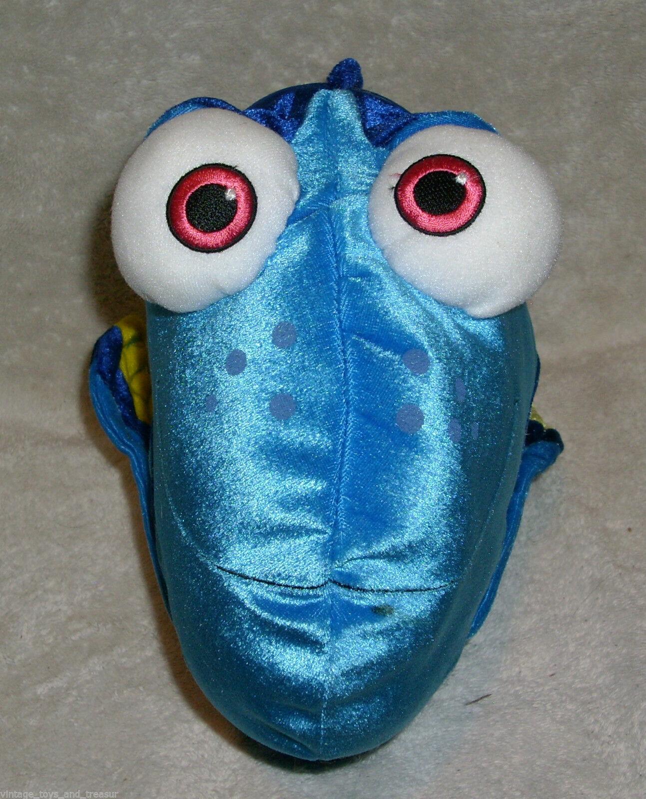 "12"" DISNEY STORE PIXAR FINDING NEMO DORY BLUE GIRL FISH STUFFED ANIMAL PLUSH TOY"